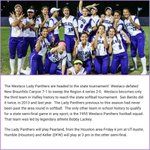 WHS Lady Panthers! State Bound! ⚾️⚾️⚾️⚾️ https://t.co/ZceZzOG49E