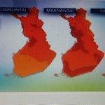 Hottest weather today #Finland recorded in #Lapland #salla 26.4° C #summer #warmweather #visitlapland via @YleSaa https://t.co/Zker2uNdUg