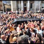Bruce leaves hotel to Croke Park #rockstarlife via @mpslater / Barbara Donadio https://t.co/5MiNs83Mwq