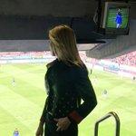 Los jugadores calentando y llenazo en apoyo a los rojillos!! #ItzuliNahiDut #QuieroVolver @CAOsasuna @pamplonacentro https://t.co/eeEoQFzKRh