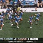 Champions!  UNC womens lacrosse takes down Maryland, 13-7, to win its 2nd NCAA Championship in school history. https://t.co/TsavQq9DkS