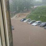 Unwetter auch in Thüringen: Überschwemmung in Ilmenau nach starkem Regen. https://t.co/V9vaYnFGck