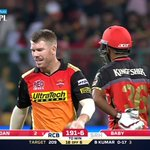 More like a Warner army than Orange army. David Warner managed the impossible beating the favourites. #RCBvSRH https://t.co/l2P06zaeda