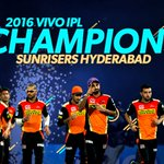 Congratulations to @SunRisers on winning the #VIVOIPL as they squeeze @RCBTweets out by 8 runs! #RCBvSRH https://t.co/L3DZRSYUSs