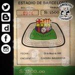 "Boleto de la fecha ""Clausura - Inauguración"" 29/05/1988. Tribuna @CSEmelec #Monumentalazo. https://t.co/iJBK7SAtAE"