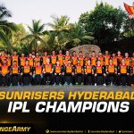 We did it! Were the #VIVOIPL Champions of 2016. Lets celebrate Hyderabad #OrangeArmy https://t.co/dqNQak9L5c