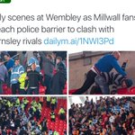 Millwall fans doing their best to impress scouts before the EDL pick their final 23 hooligans for the Euros https://t.co/qyHETl69jh