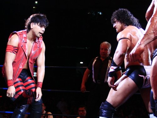 Here's a cool pic of Shinsuke Nakamura and Rush in Arena Mexico in 2011. https://t.co/2FPEhz7VEz