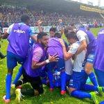 Suchitepéquez alcanza la gloria y es¡¡CAMPEÓN🏆!! de la Liga Nacional de Fútbol al vencer en global 4-2 a Los Cremas. https://t.co/arxKiZWTyt
