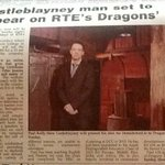 Big Thank you @theNSMonaghan for your coverage of our #dragonsden appearance @DragonsDenRTE Good luck @SprooseDub https://t.co/7tDV5Co3bz
