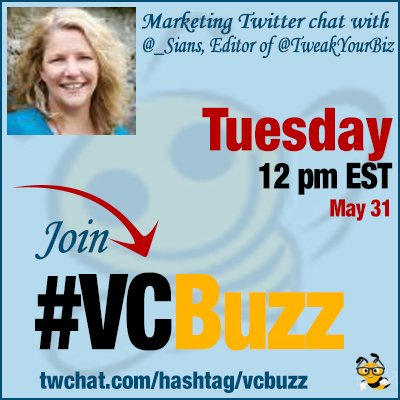 Join me for questions on blogging and editing on Tues 31st May at 12pm EST (5pm Irish/UK time) Use hashtag #VCBuzz https://t.co/C9g8lfYDuP