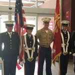 @IrvingHigh @IrvingMCJROTC Female Color Guard honoring Memorial Day with the City of Irving. https://t.co/85mlOAephE