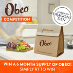 COMPETITION! To celebrate @DragonsDenRTE we have a 6 month supply of Obeo up for grabs! Just follow us & RT to enter https://t.co/XGTrlDJKfp