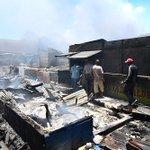 Galería de imágenes: Así quedó el mercado público de La Vega tras incendio https://t.co/tGKiHdLa41 https://t.co/9bhwBT1w2o