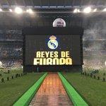 #LaUndécima | El @realmadrid está en camino al Bernabéu para festejar ante un marco impresionante de aficionados. https://t.co/32aqJFZze2