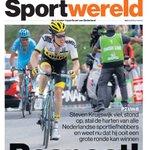 Cover Sportwereld, met daarin ook Oranje, column Willem van Hanegem, en het succes van Bertens, Polling en Holland 8 https://t.co/vx0LRIL8OR