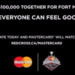Help us reach our $100,000 goal for #FortMac! Donate today & well match it https://t.co/Shb7zS1M0I #MCMemorialCup https://t.co/HodWQZuzJd