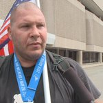 The final finisher in the Buffalo Marathon was a veteran and cancer survivor, who says he runs for those who cant. https://t.co/4Ns8yce0cY
