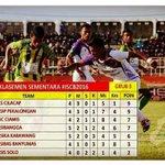 29/5 Klasemen sementara #ISCB2016 grup 3, poin Laskar Kalong sama dengan Laskar Nusakambangan beda selisih gol https://t.co/UJzBISEvTu