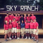 So proud of these alums spending their summers serving the Lord together at Sky Ranch! https://t.co/CXl3DYtmDE