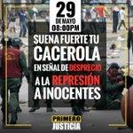 ¡Corre la voz! dile a tus vecinos y familiares que tocamos #CacerolazoAlasOcho defendamos nuestros derechos. https://t.co/0e0JpAcxrO