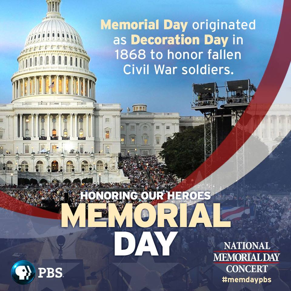 See @TheBeachBoys, @katharinemcphee, @AlfieBoe & more live in concert honoring Memorial Day Tonight @ 7PM #MemDayPBS https://t.co/2jwIOPEPPv