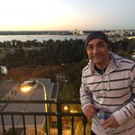 Hussein waiting for Jacobs Ladder to open. Been doing it for 22 years! #Perth #fitness https://t.co/5GKCYxZlhd