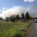 Wildfire burning north of Airway Heights #kxly https://t.co/1E4IwmE7SD