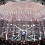 🎊🎆🏆🙌  ¡Noche espectacular en el Bernabéu!   #LaUndecima #HalaMadrid https://t.co/ZWiga5upnz