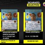 Estos son los principales responsables del asesinato del General Bolivariano, Félix Antonio Velásquez. https://t.co/y3pSNkC1As