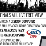 AHL Fans: Stream the 2016 #CalderCup Finals between the #Monsters & the #Bears for free at https://t.co/H4S6BashZm! https://t.co/FRkA7k7Sq1