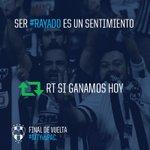 RT 🔄 Ser #Rayados es un sentimiento #RayadosEnLaFinal #MTYvsPAC https://t.co/2pjcjcWqfX