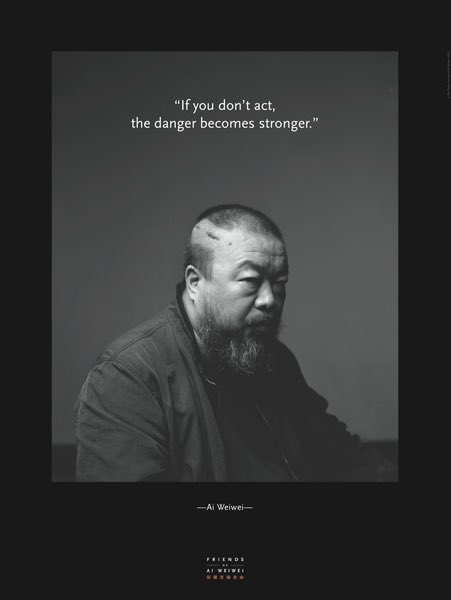 5 out of 5 stars for @aiww's documentary, Never Sorry. One of the most important uses of social media. https://t.co/QYYLFwXvhD