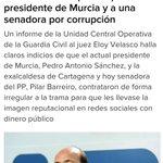 Pi pi pi pi pi. Otro caso aislado de corrupción que no representa al partido. Vamos a Murcia. ¡Mariano un purito! https://t.co/Ioaw0dT1XG
