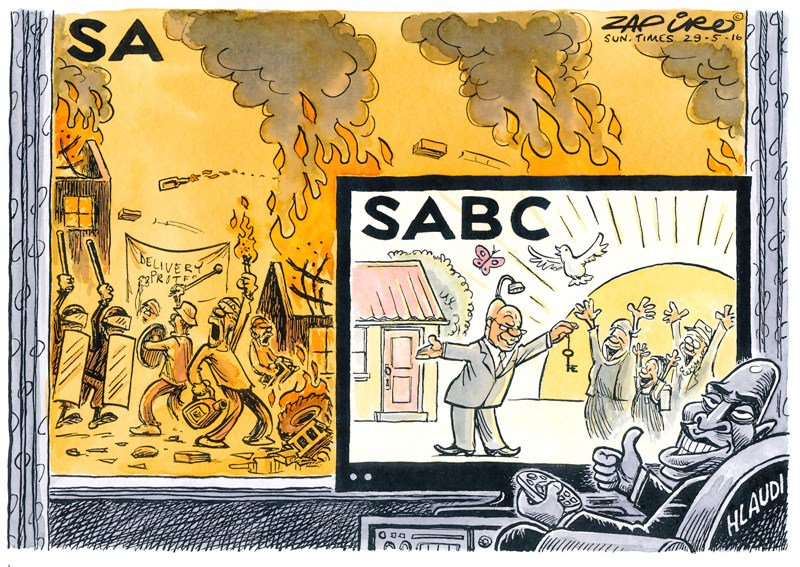 @zapiro @SundayTimesZA on the SABC's decision to stop broadcasting footage of violent protests https://t.co/k90HllH27f