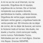 Gracias @Rayados. Felicidades @Tuzos https://t.co/CiJQ6RYJYI