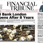 #Iran Melli Bank London reopen after 8 years بانك ملي شعبه لندن بعد از ٨ سال دوباره شروع به كار ميكند. https://t.co/8xIBCEm1wl