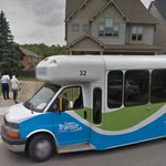 Overseen on Google Streetview: A #Guelph transit operator helps an elderly woman to her home.  <3 @cityofguelph https://t.co/sMmZDmPyCu