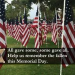 Help us Remember the Fallen #MemorialDay, 3PM,1 min of silence. #NationalMomentofRemembrance https://t.co/TmV6qndCuI https://t.co/igub0wolY2
