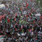 """#Islamabad PPP rally Leaded by Bilawal Bhutto leaves for Mirpur AJK #KarwanEBilawal @BBhuttoZardari @BakhtawarBZ https://t.co/9uMfXBjABh"