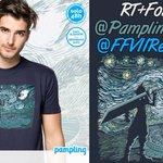 SORTEO Camiseta #FinalFantasyVII gracias a @PamplingNews Dadle mucho amor a este nuevo sorteo ???????????? RT+FOLLOW ^^ https://t.co/RqzVjbFBBg