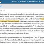 """O @Estadao sempre me chamou """"jornalista"""" - até eu critiquei o @Estadao e impeachment. Agora sou """"ativista"""" https://t.co/BAVrWssolz"""