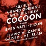 RT ItsAllTechno: Tonight in Ibiza cocoon_official opening Amnesia_Ibiza with svenvaeth SLAMdjs ilarioalicante & mo… https://t.co/r1l6TuFHXM