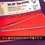 First 100 tickets to hit the streets for @Stormzy1  Opening party @ibizarocks  @CharlieSloth  #ibizarocks #MERKY https://t.co/0Ygwto2TwK