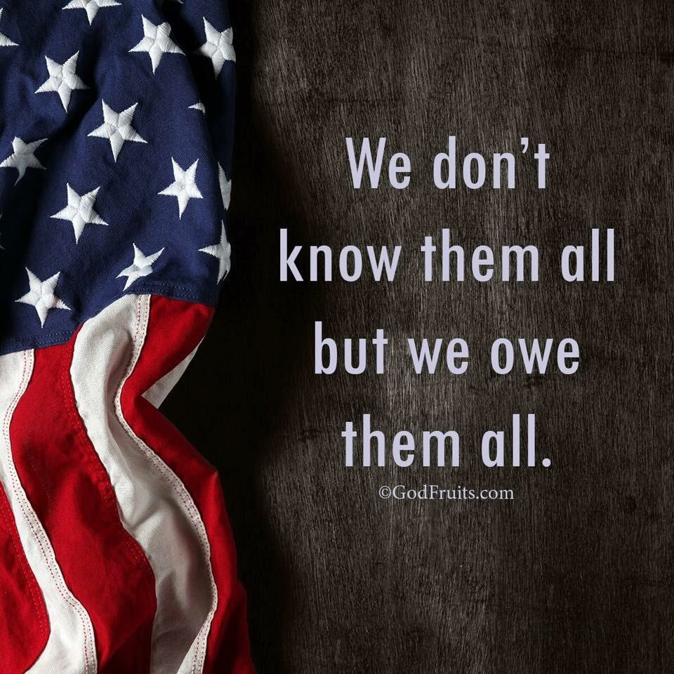 """Greater love hath no man than this, that he lay down his life for his friends."" (John 15:13) Happy Memorial Day https://t.co/Auv8DKy0m9"