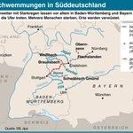 Wo das Unwetter in Süddeutschland gewütet hat - dargestellt von @dpa_infografik (haa) https://t.co/TXtjZGBY1U