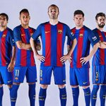 Learn all about the new @FCBarcelona kit for the 2016/17 season: https://t.co/71qLL0ua0Y https://t.co/irwdSumwki
