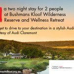 #Competition time! Stand a chance to #win with @BushmansKloof & #AudiClaremont. Simply RT & Follow us to enter. https://t.co/MaJmsj74oG