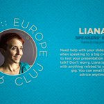 Have you met Liana, our #speakersBFF? If you need help w/ slides or public speaking tricks shes the one #yapceu2016 https://t.co/K0ookQ9avy