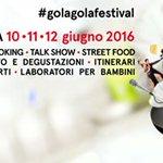 Il #golagolafestival si avvicina! Il 10,11,12 giugno a #Parma un Festival per tutti i gusti! https://t.co/oMt4OGH5Xa https://t.co/1MtDVuD2Tp